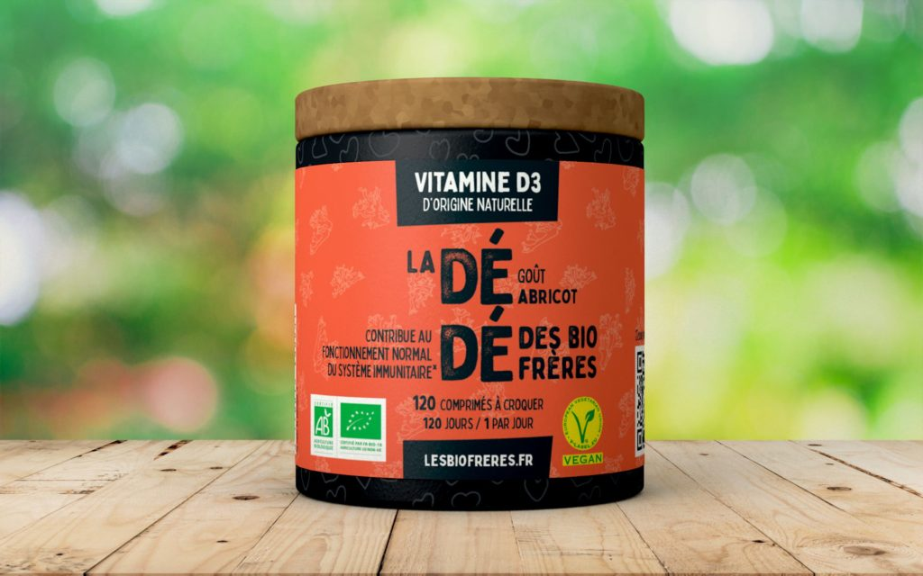 Vitamine D3 bio vegan naturelle